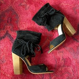 Kristin Cavallari Chinese Laundry heeled bootie